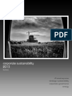 Sustainability in Korea - Performance & Trends 2013