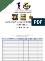 Borang Rancangan Makanan Tambahan RMT Kelas