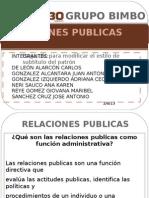 GRUPO BIMBO-Relaciones Públicas-Equipo 6-Grupo 1159-Fundamentos de Administración