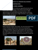 Report by students of B.Arch on educational trip to JKK, JANTAR MANTAR
