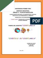 UFT-SAIA-GERENCIA INDUSTRIAL-DIVERTILANDIA - 1ra.Fase - Investigación (06-02-13)