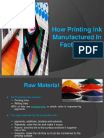 How Printing Ink Manufactured in Factory