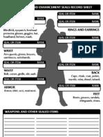 d20 Item Sheet