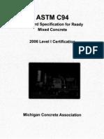 ASTM C 94
