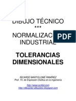 DIBUJO TÉCNICO. TOLERANCIAS DIMENSIONALES