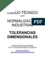 DIBUJO TÉCNICO. TOLERANCIAS DIMENSIONALES