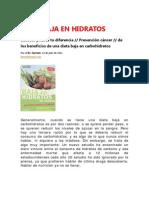 dietabajaenhidratos