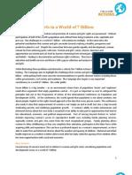7 billion issue briefs