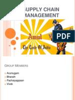 SCM of Amul