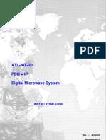 ATL-NIX-20 PDH + IP Installation Manual _ Rev 1.1