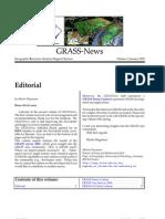 GRASS Newsletter vol. 2 (January 2005)