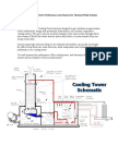 Cooling Tower Performance and Sensors for Thermal-Fluid Systems