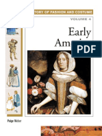 Early America (History of Costume and Fashion volume 4)