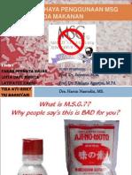 Bahaya MSG dalam kehidupan sehari-hari