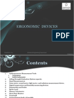 Ergonomics Measuring Instruments