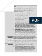 Peer&Self Assessments