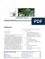 GRASS Newsletter vol. 1 (August 2004)
