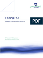 Finding ROI
