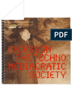 EXCESS IN THE TECHNO-MEDIACRATIC SOCIETY catalogue 1993