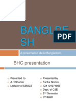 A presentation on Bangladesh