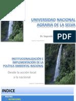 04 Organización administración e Institucionalidad