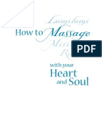 how to massage Lomi Lomi