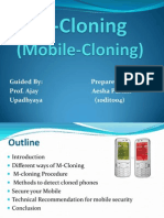 mobile Cloning