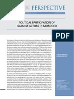 PolItIcal PartIcIPatIon ofISlamISt actorS In morocco