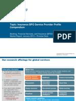 Insurance BPO Service Provider Profile Compendium
