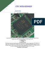 service manual cpu mtk 6223