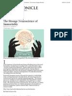 Neuroscience chronicle