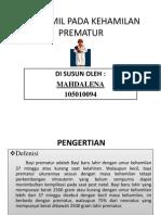 PPT PREMATUR