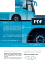 Did you know? Facts and Figures on Bus and Coach Transport in Europe