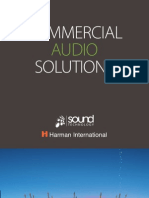 Harman / Sound Technology Installed Audio Solutions and Application Examples