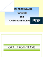 Oral Prophylaxis, Toothbrushing, Flossing 2