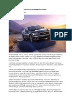 Infiniti Q50 Debut Perdana di Geneva Motor Show