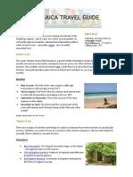 Hotels4U Jamaica Travel Guide