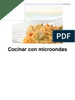 recetario microondas