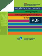 Guía 3.- Utopía Voces diversas. Practiguía para la homologación y reclasificación de rangos policiales