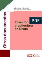 El Sector de l'Arquitectura al mercat xinès.