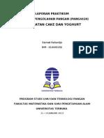 Laporan Praktikum Teknologi Pengolahan Pangan-2013