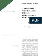 Aspectos generales poblacion boliviana