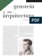 Wittgenstein y La Arquitectura