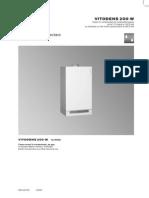 Instrucţiuni de proiectare Vitodens 200 W