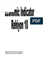 Economic Indicator Region 10