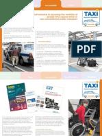 Taxi factsheet – Accessible