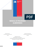 Manual Programas Alimentarios