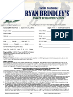 Ryan Brindley Hockey Development Camp ~ Summer 2013