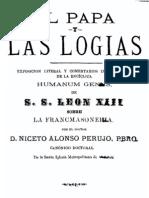 El Papa y Las Logias