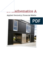 34413697 12 Mathematics a Applied Geometry Financial Maths